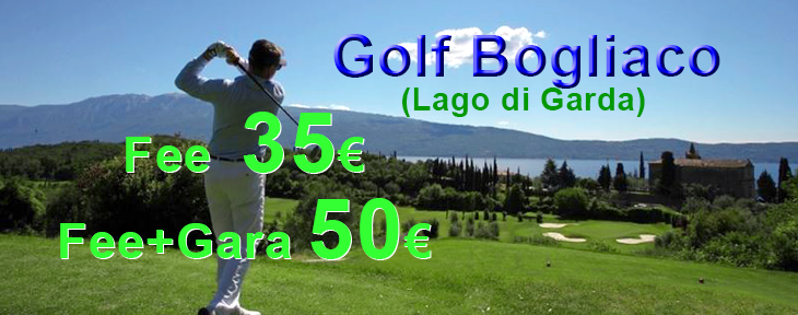 bogliaco golf greenfee offerta